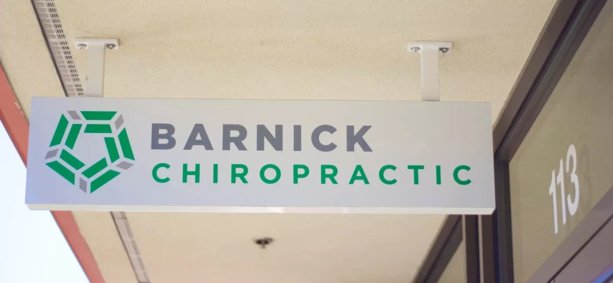 Sign for Barnick Chiropractic